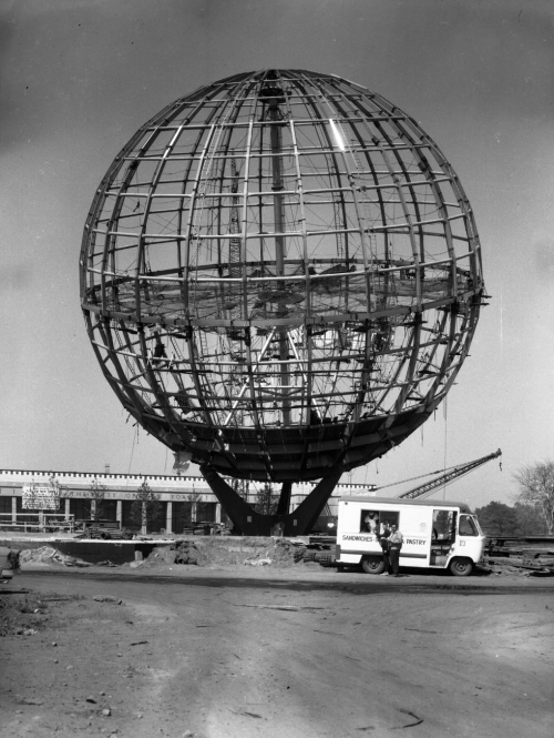About_Building-History_1964-NYWF-Unisphere-Construction
